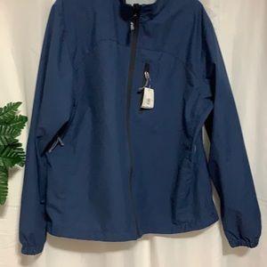 NWT MEC Mens Momentum Windproof Light Jacket Blue